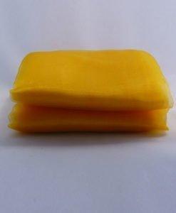 Tissu Organza Tulle Orange Mariage