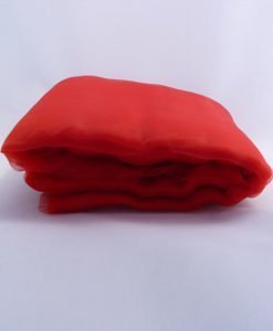 Tissu Organza Tulle Rouge Mariage