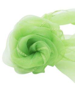 Tissu Vert Mariage Organza Arche