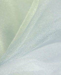 Tissu Mariage Organza Arche Blanc