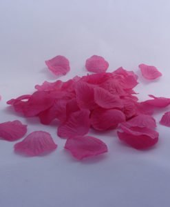 Petales Tissu Mariage Fleur Fushia