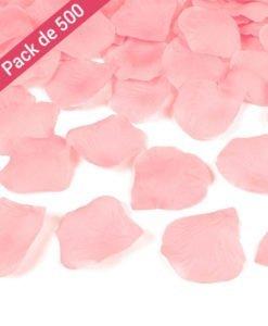 500 petales Mariage roses