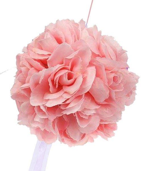 Boule Fleur Mariage Rose