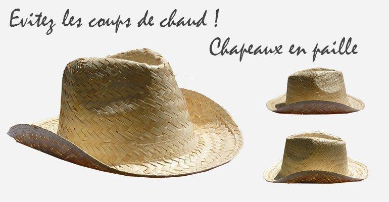 Chapeaux Paille Mariage