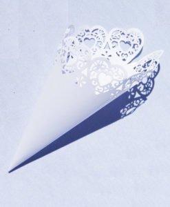 Cone pour cérémonie de mariage