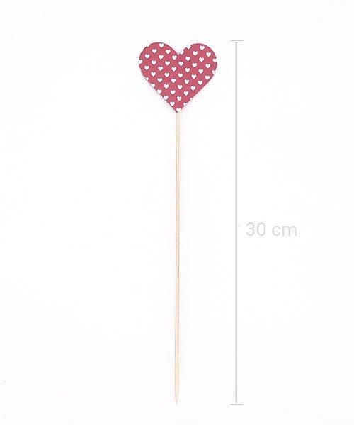 Coeur sur pique Rouge