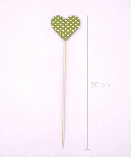 Coeur sur pique Vert