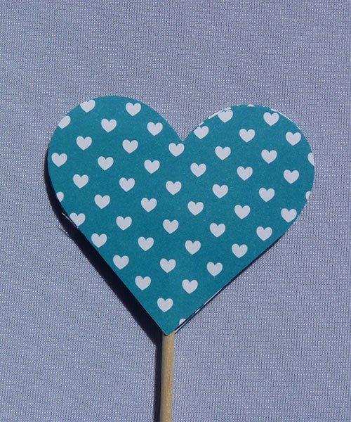 Coeur sur Pique Bleu