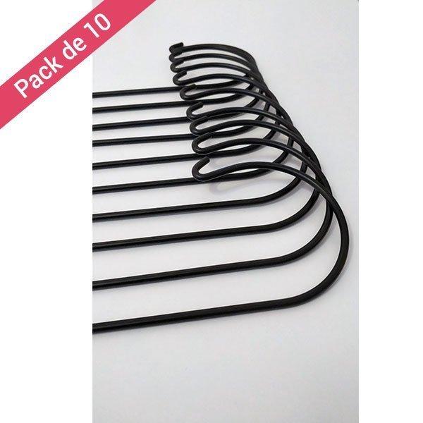 Pack de 10 Piquets Cérémonie Mariage Noir 5mm
