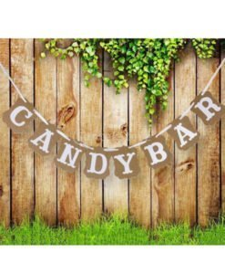 Banderole Guirlande Baniere Mariage Candy Bar