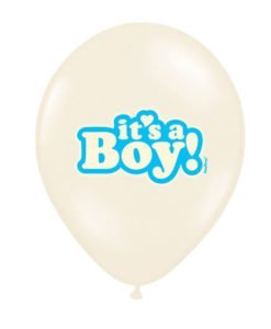 Pack 6 Ballons Baby Shower Garçon