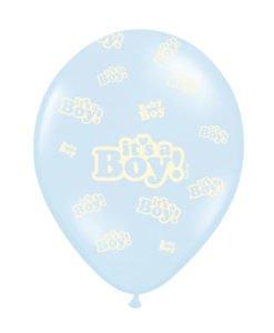 Pack 6 Ballons Baby Shower Garçon