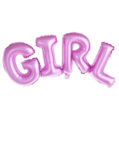 Ballon Baby Shower Fille Girl