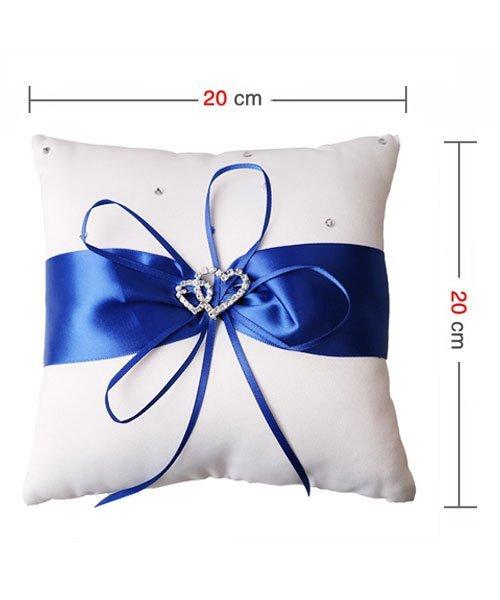 Coussin Porte Alliance Bleu