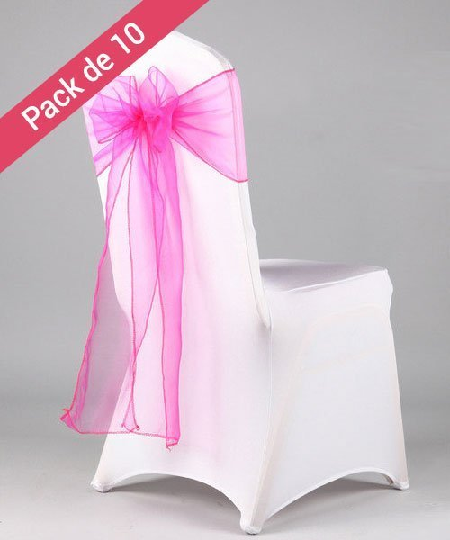 n uds de chaises pour mariage fushia pack de 10. Black Bedroom Furniture Sets. Home Design Ideas