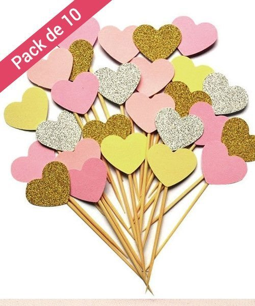 Pics Coeur Fille Baby Shower