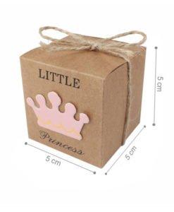 Boite Carton Baby Shower Fille
