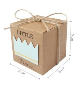 Boite Carton Baby Shower Garçon