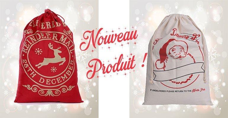 Décoration de noel - Hotte Pere Noel