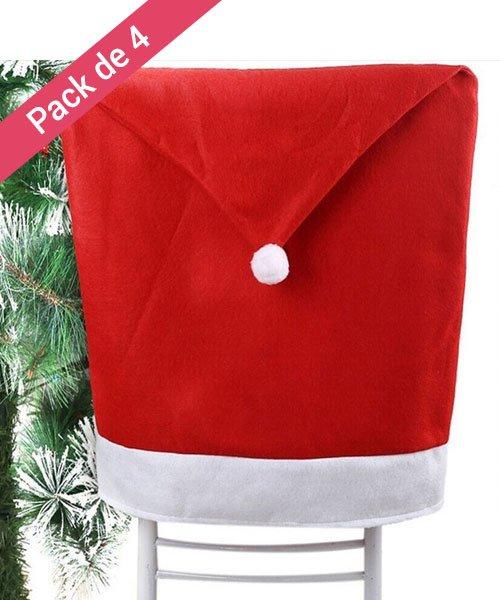 Housses de chaises pour Noël Pack de 4 - Olili on