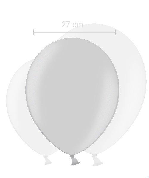 Ballon Argent 27 cm