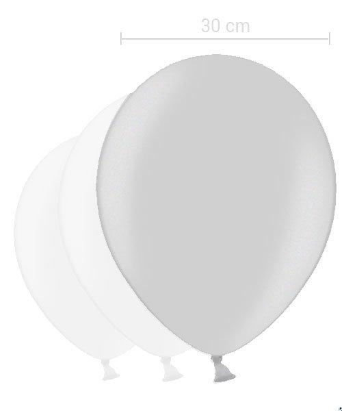 Ballon Argent 30 cm