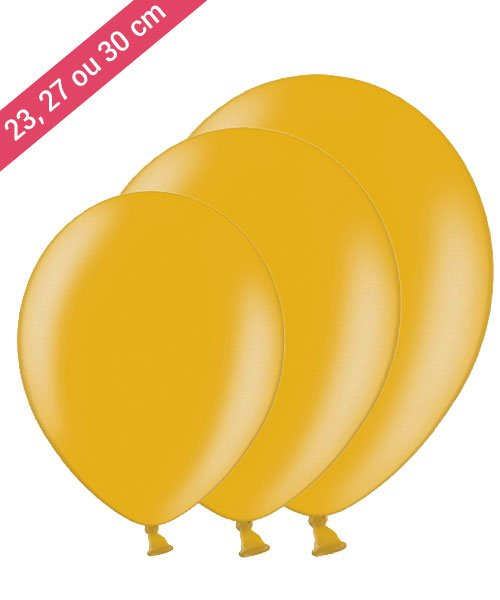 Ballon Or Décoration