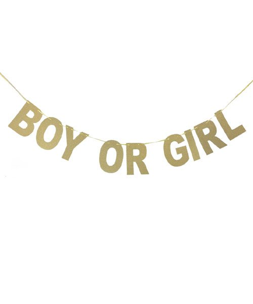 Banderole Boy or Girl OR