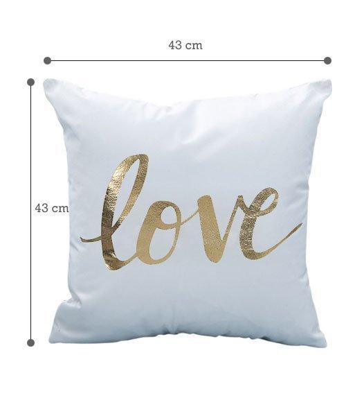 housse de coussin love pour mariage olilly. Black Bedroom Furniture Sets. Home Design Ideas