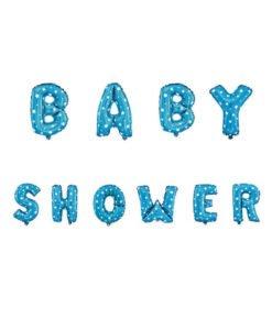 Ballon Lettre Baby Shower Bleu