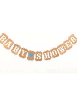 Banderolle Baby Shower pour garçon