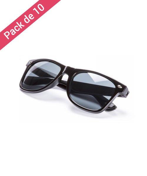 0ffd91f438c818 Lunette Noire Pour Mariage - Pack de 10 - Meilleur Prix