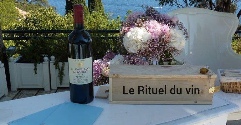 Rituel du Vin Mariage Cérémonie