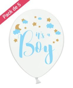 Ballons It's A Boy pour Baby Shower Garcon