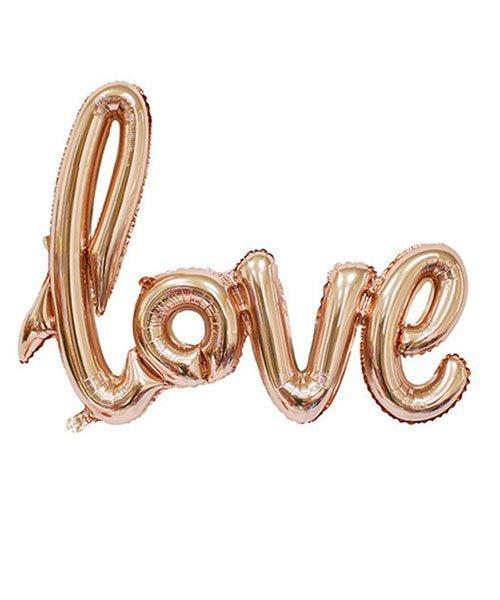 Ballon Love Cuivre ou Champagne