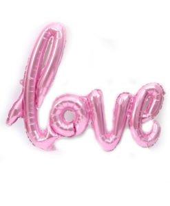Ballon Love Rose Mariage Babyshower