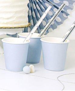 Gobelets Bleus en Carton