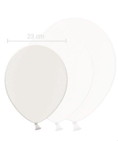 Ballon Blanc 23 cm