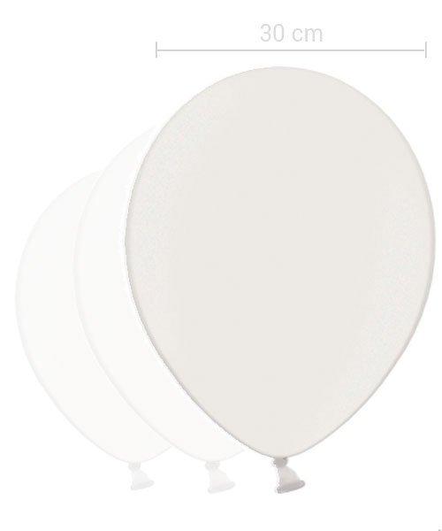 Ballon Blanc 30 cm