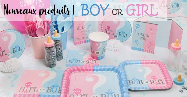 Baby Shower Surprise Garcon ou Fille