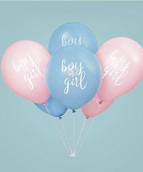 Ballons Gender Reveal