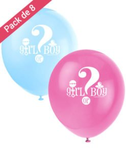 Ballons en Latex Boy or Girl