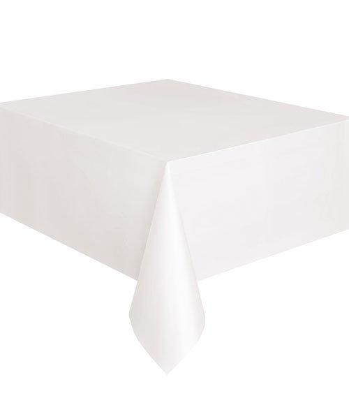 Nappe Plastique Blanche