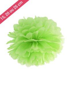 Pompon Papier Vert