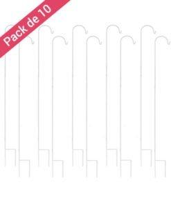 Piquets Mariage Blancs 150 cm