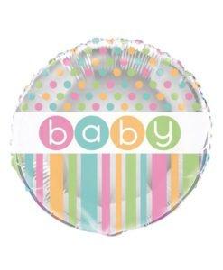 Ballon Aluminium Baby Pastel
