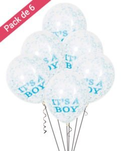 Ballons Confettis It s a boy