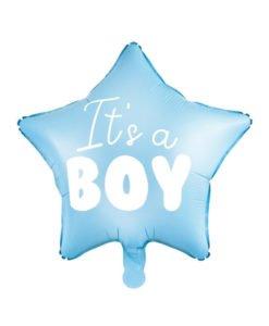 Ballon Etoile Baby Shower Garçon