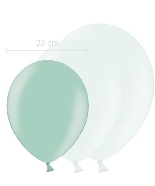 Ballon Mint 23 cm
