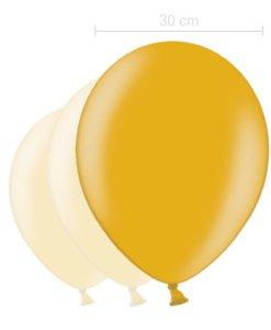 Ballon Couleur Or 30 cm